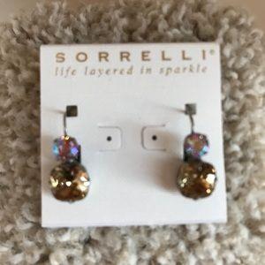 Sorrelli Crystal Earrings NWT
